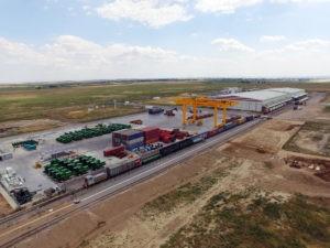 Грузовой контейнерный терминал