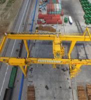 Кран RMGC для контейнеров